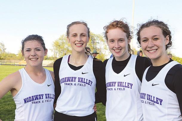 NV distance medley team