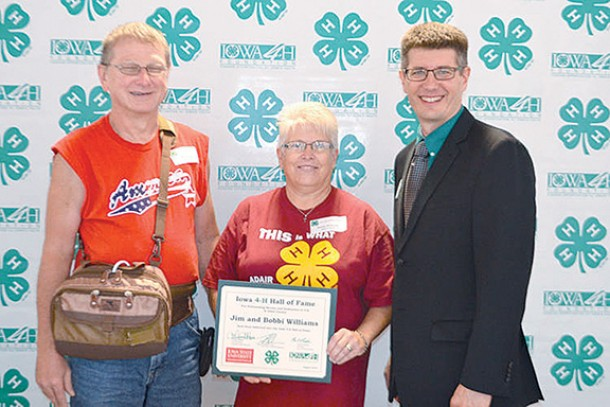 Jim and Bobbi Williams inducted into 4-H Hall of Fame